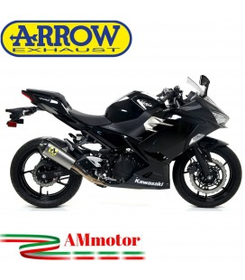 Arrow Kawasaki Ninja 400 18 - 2020 Kit Completo Competion Evo-3 Con Terminale Works Collettori Full Titanio