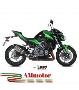 Mivv Kawasaki Z 900 Terminale Di Scarico Marmitta Suono Inox Moto Omologato