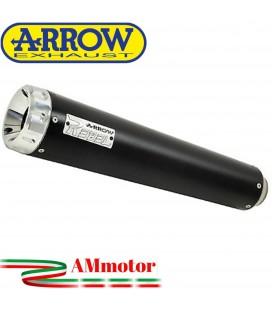 Terminale Di Scarico Arrow Kawasaki Vulcan S 650 17 - 2020 Slip-On Rebel Moto Fondello Alluminio Lucido
