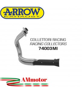 Kawasaki Vulcan S 650 17 - 2020 Arrow Moto Collettori Di Scarico Racing In Acciaio