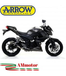 Terminale Di Scarico Arrow Kawasaki Z 300 15 - 2016 Slip-On GP2 Dark Moto