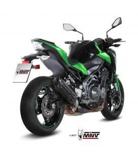Mivv Kawasaki Z 900 Terminale Di Scarico Marmitta Suono Black Moto Omologato
