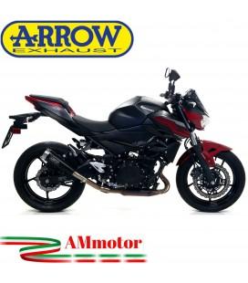 Terminale Di Scarico Arrow Kawasaki Z 400 19 - 2020 Slip-On Pro-Race Nichrom Dark Moto