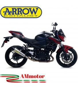 Terminale Di Scarico Arrow Kawasaki Z 400 19 - 2020 Slip-On X-Kone Moto