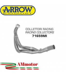 Kawasaki Z 650 17 - 2019 Arrow Moto Collettori Di Scarico Racing In Acciaio