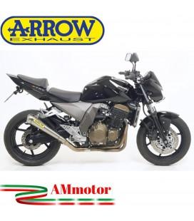 Terminale Di Scarico Arrow Kawasaki Z 750 04 - 2006 Slip-On Pro-Race Nichrom Moto
