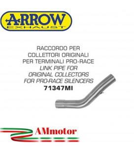 Raccordo Kawasaki Z 750 04 - 2006 Arrow Moto Per Collettori Originali Per Terminali Pro-Race