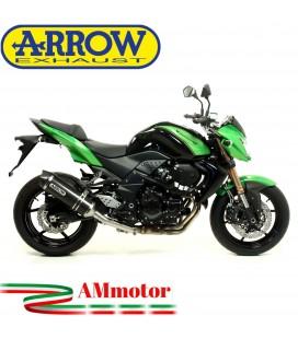Terminale Di Scarico Arrow Kawasaki Z 750 R 11 - 2014 Slip-On Race-Tech Carbonio Moto Fondello Carbonio