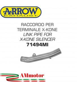 Raccordo Kawasaki Z 750 R 11 - 2014 Arrow Moto Per Terminali X-Kone