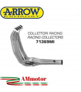 Kawasaki Z 750 R 11 - 2014 Arrow Moto Collettori Di Scarico Racing In Acciaio