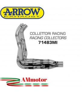 Kawasaki Z 800 E 13 - 2016 Arrow Moto Collettori Di Scarico Racing In Acciaio