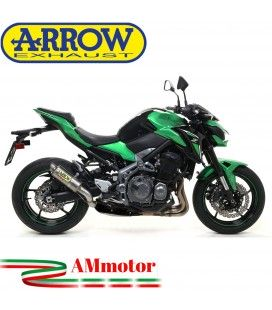 Terminale Di Scarico Arrow Kawasaki Z 900 17 - 2019 Slip-On GP2 Titanio Moto