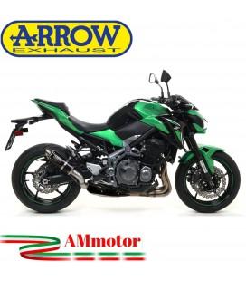 Terminale Di Scarico Arrow Kawasaki Z 900 17 - 2019 Slip-On GP2 Dark Moto