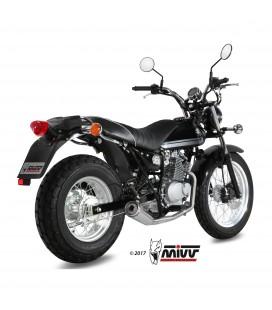 Scarico Completo Mivv Suzuki Van Van 200 Terminale Ghibli Inox Moto Basso