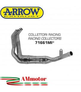 Kawasaki Z 900 17 - 2019 Arrow Moto Collettori Di Scarico Racing In Acciaio