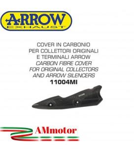Protazione Paracalore Arrow Kawasaki Z 900 17 - 2019 Cover In Carbonio Per Collettori Originali