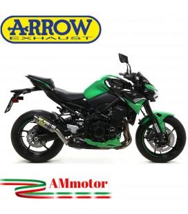 Terminale Di Scarico Arrow Kawasaki Z 900 2020 Slip-On GP2 Titanio Moto