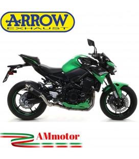 Terminale Di Scarico Arrow Kawasaki Z 900 2020 Slip-On GP2 Dark Moto
