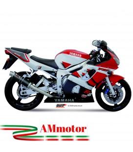 Mivv Yamaha Yzf 600 R6 Terminale Di Scarico Marmitta Gp Carbonio Moto Omologato