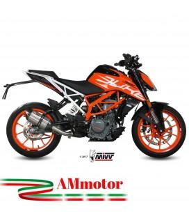 Mivv Ktm 390 Duke Terminale Di Scarico Marmitta Suono Inox Moto Omologato