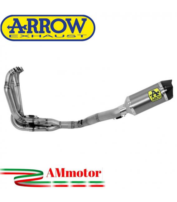 Arrow Kawasaki ZX-6R 636 19 - 2020 Kit Completo Competion Full Titanio Con Terminale Race-Tech