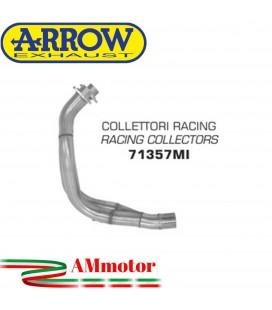 Kawasaki Versys 650 07 - 2014 Arrow Moto Collettori Di Scarico Racing In Acciaio