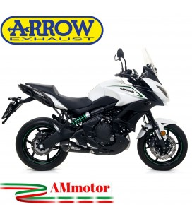 Terminale Di Scarico Arrow Kawasaki Versys 650 17 - 2020 Slip-On X-Kone Dark Moto
