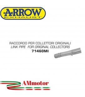 Raccordo Kawasaki Versys 1000 12 - 2014 Arrow Moto Per Collettori Originali