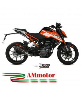 Mivv Ktm 125 Duke Terminale Di Scarico Marmitta Suono Black Moto Omologato