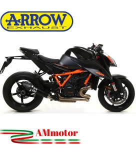 Terminale Di Scarico Arrow Ktm 1290 SuperDuke R 2020 Slip-On X-Kone Dark Moto