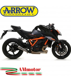 Terminale Di Scarico Arrow Ktm 1290 SuperDuke R 2020 Slip-On Pro-Race Titanio Moto