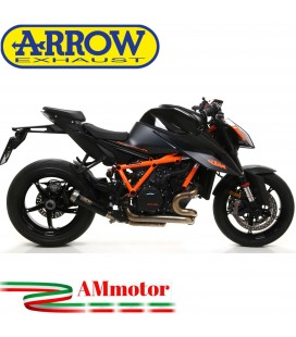 Terminale Di Scarico Arrow Ktm 1290 SuperDuke R 2020 Slip-On Pro-Race Nichrom Dark Moto