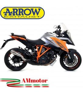 Terminale Di Scarico Arrow Ktm 1290 Superduke GT 17 - 2018 Slip-On Pro-Race Nichrom Moto
