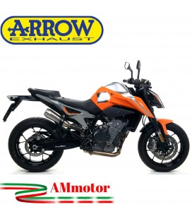 Terminale Di Scarico Arrow Ktm 790 Duke 18 - 2020 Slip-On Pro-Race Nichrom Moto