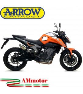 Terminale Di Scarico Arrow Ktm 790 Duke 18 - 2020 Slip-On GP2 Titanio Moto