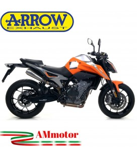 Terminali Di Scarico Arrow Ktm 790 Duke 18 - 2020 2 Slip-On Pro-Race Titanio Moto