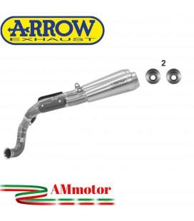 Terminali Di Scarico Arrow Ktm 790 Duke 18 - 2020 2 Slip-On Pro-Race Nichrom Moto