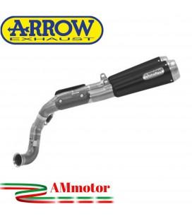 Terminali Di Scarico Arrow Ktm 790 Duke 18 - 2020 2 Slip-On Pro-Race Nichrom Dark Moto