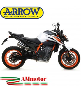 Terminale Di Scarico Arrow Ktm 890 Duke R 2020 Slip-On Pro-Race Titanio Moto