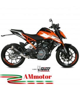 Mivv Ktm 125 Duke Terminale Di Scarico Marmitta Gp Pro Black Moto Omologato