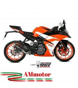 Mivv Ktm Rc 125 Terminale Di Scarico Marmitta Gp Pro Black Moto Omologato