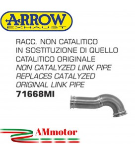 Raccordo Ktm RC 125 17 - 2020 Arrow Moto Tubo Elimina Catalizzatore Non Catalitico