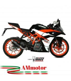 Mivv Ktm Rc 390 Terminale Di Scarico Marmitta Gp Pro Black Moto Omologato