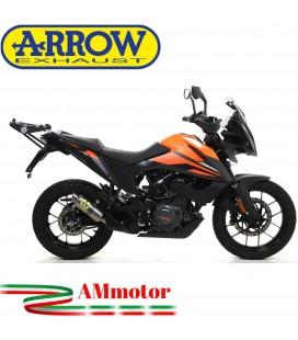 Terminale Di Scarico Arrow Ktm 390 Adventure 2020 Slip-On GP2 Titanio Moto
