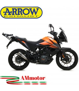 Terminale Di Scarico Arrow Ktm 390 Adventure 2020 Slip-On Pro-Race Nichrom Moto