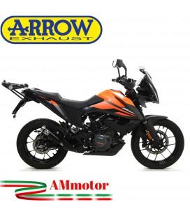 Terminale Di Scarico Arrow Ktm 390 Adventure 2020 Slip-On Pro-Race Nichrom Dark Moto