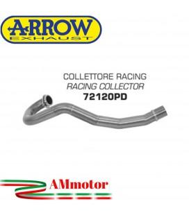 Ktm 690 Enduro R 09 - 2016 Arrow Moto Collettore Di Scarico Racing In Acciaio