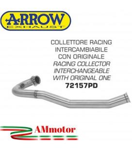 Ktm 690 Enduro R 19 - 2020 Arrow Moto Collettore Di Scarico Racing In Acciaio