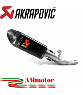 Akrapovic Triumph Street Triple 765 S / R / RS 2020 Terminale Di Scarico Slip-On Line Carbonio Moto Racing
