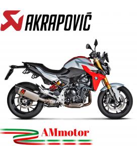 Akrapovic Bmw F 900 R Terminale Di Scarico Slip-On Line Titanio Moto Omologato